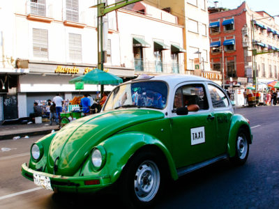 Classic Green Cab - Mexico City (MEX)