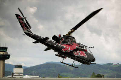 Flying Bulls - Salzburg Airport - Bell Cobra Helicopter