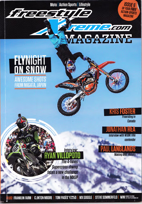 Drake McElroy Story - Freestyle Magazine - Mag Cover