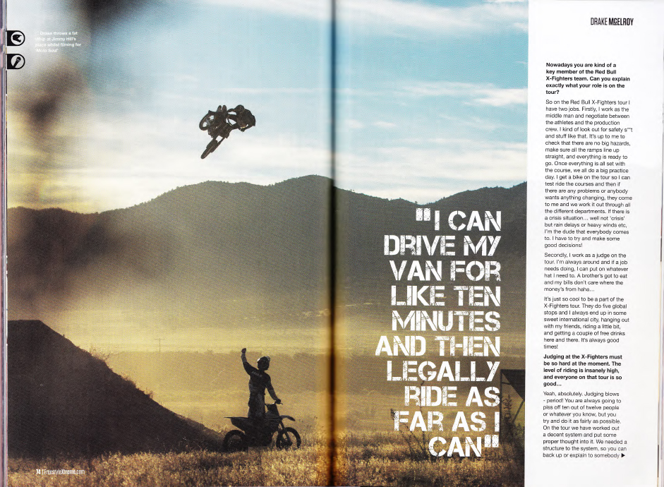 Drake McElroy Story - Freestyle Magazine - Page 4/5
