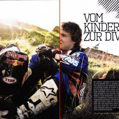 Moto X Mag – Levi Sherwood Story