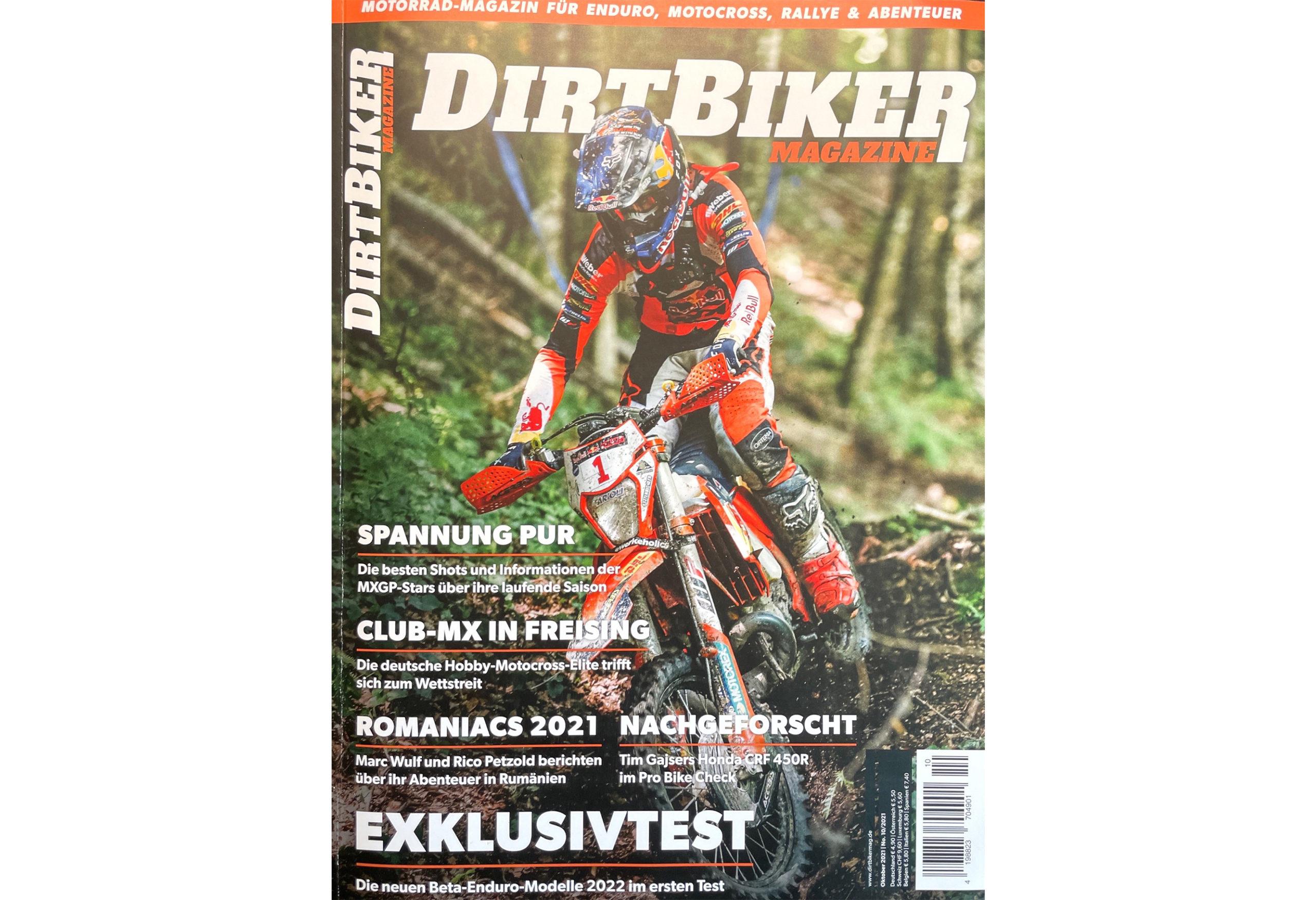 Cover Dirtbiker Mag 10/21
